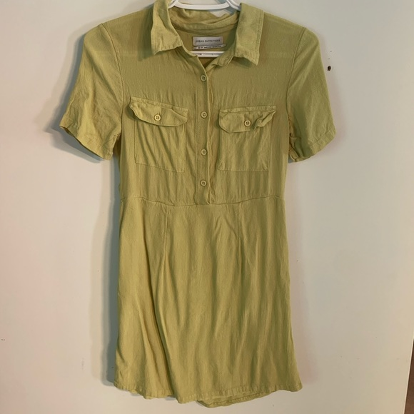 Green Tshirt Dress from UO